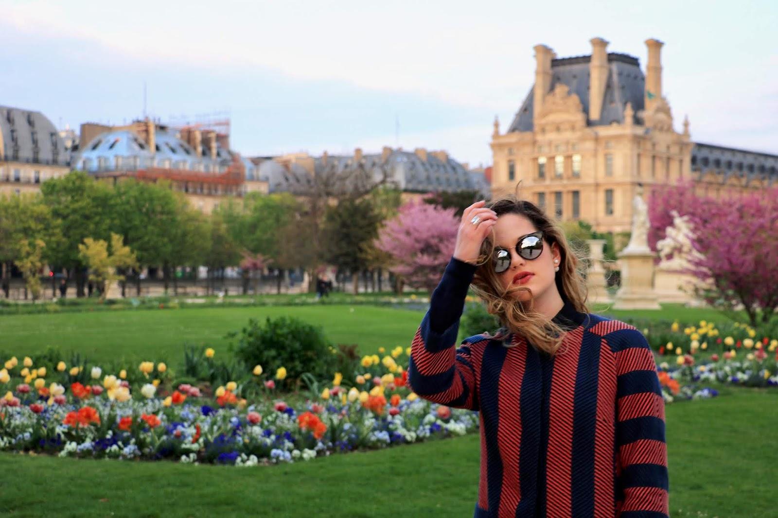 Tuileries Garden Paris April 2019