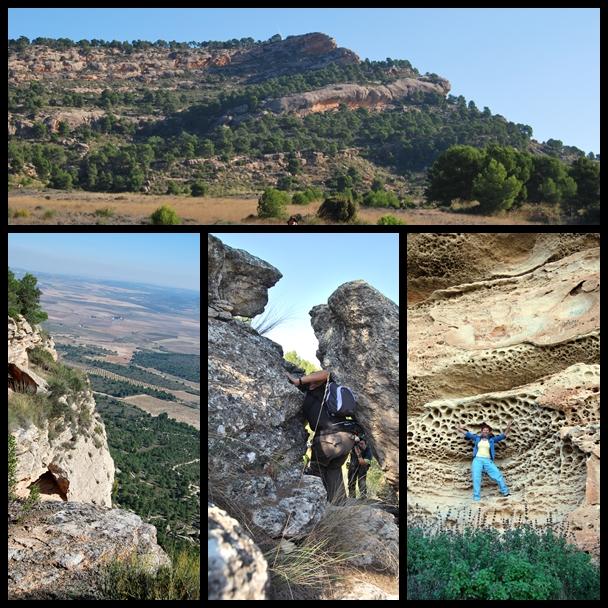 Diferentes imágenes del monte arabi