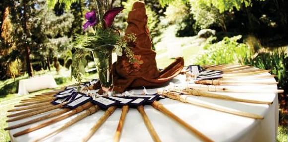 Bomboniere Matrimonio Tema Harry Potter : Boda temática de harry potter fotografías y detalles