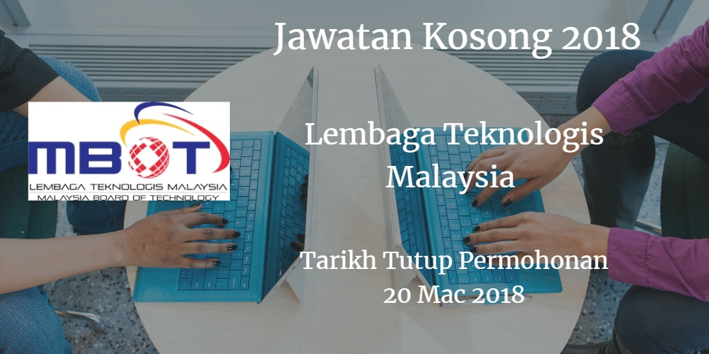 Jawatan Kosong MBOT 30 Mac 2018