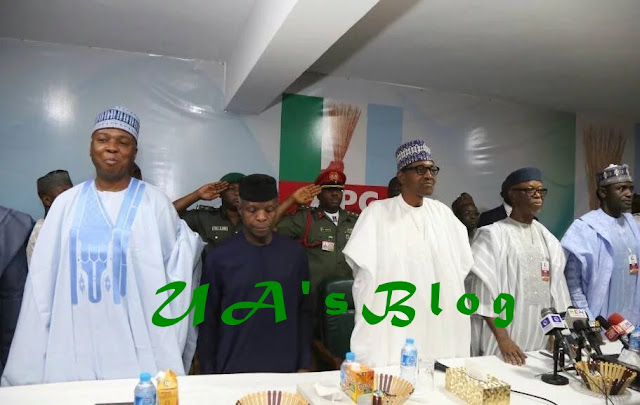 BREAKING: Oyegun, others not eligible to run for APC leadership positions – Buhari