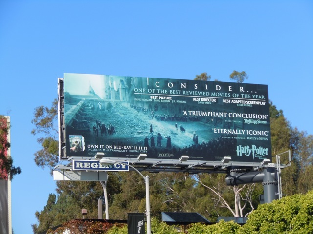 Harry Potter Consider billboard