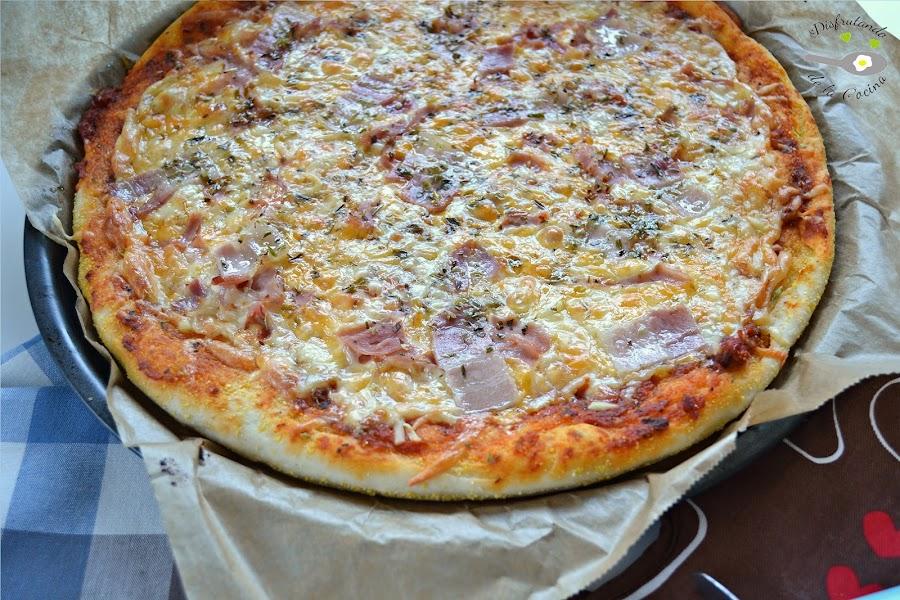 MASA DE PIZZA AL ESTILO PIZZA HUT O DOMINOS PIZZA