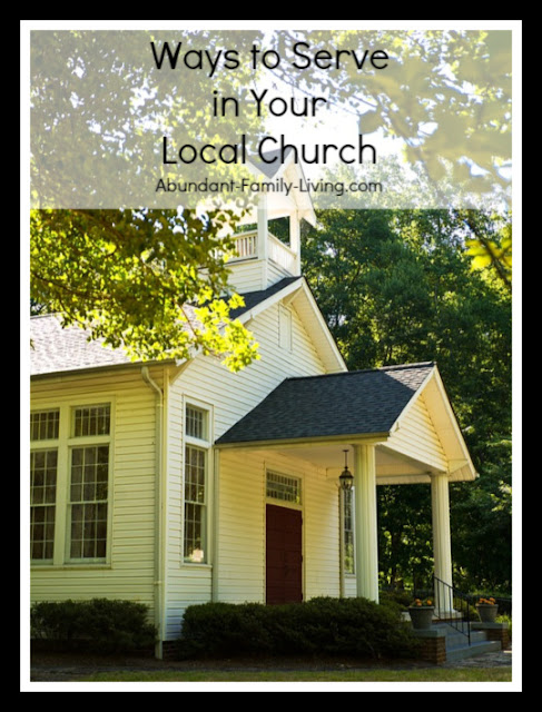 Ways to Serve in Your Local Church