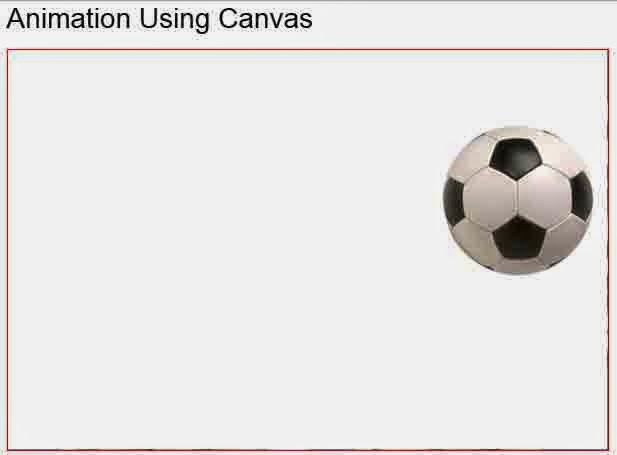 Soccerball animation using canvas