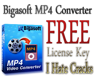 Bigasoft MP4 Converter Free Download With License Code