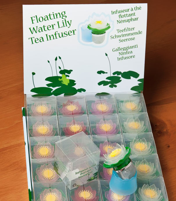 Floating water Lily Tea insure