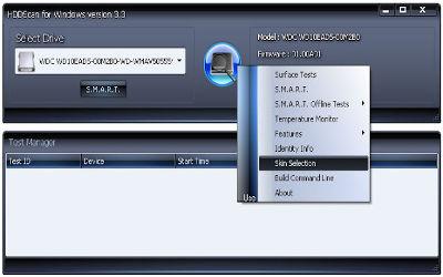 HDDScan - Diag du Disque Dur sur Windows
