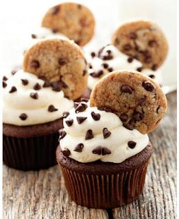 cupcake dengan biskuit