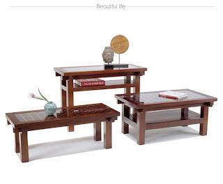 Diseño de mesita asiatica