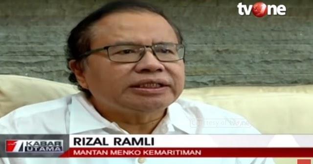 Terungkap! Pemecatan Rizal Ramli Disebut Ada Pengusaha Rangkap Penguasa Takut Proyeknya Disetop