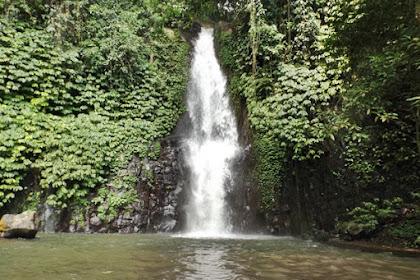 Pesona Alami Air Terjun Tinggarsari di Busungbiu Buleleng