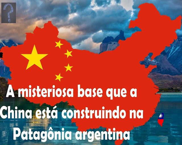 A base é apenas o início para a China entrar nas imensas jazidas energéticas patagônicas