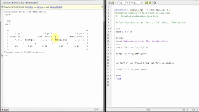 ExtremeVoltages: Finding the Fourier Series using Matlab