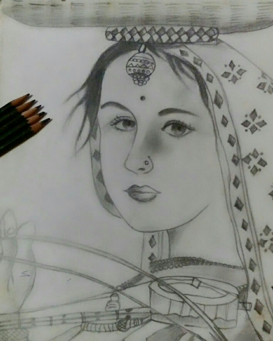 Drawing - Fatheru0026#39;s Love - Indian Art Collection