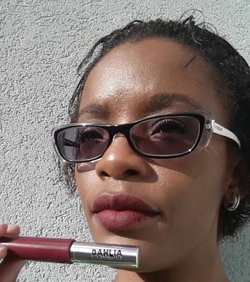 Pretty Zombie Cosmetics 'Dahlia' swatch - www.modenmakeup.com