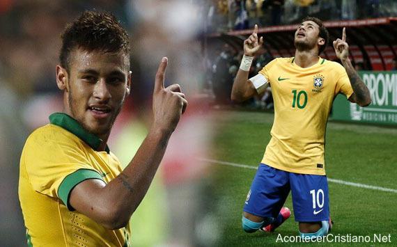 Neymar diezmo a iglesia