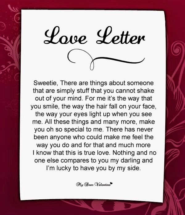 how to explain your love for someone in a letter