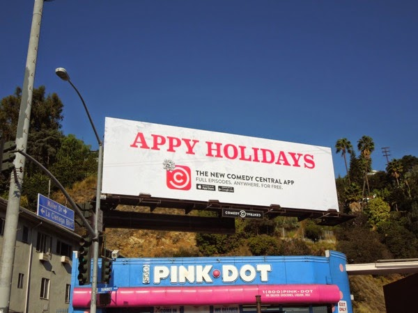 Appy Holidays billboard