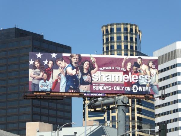 Shameless season 7 billboard