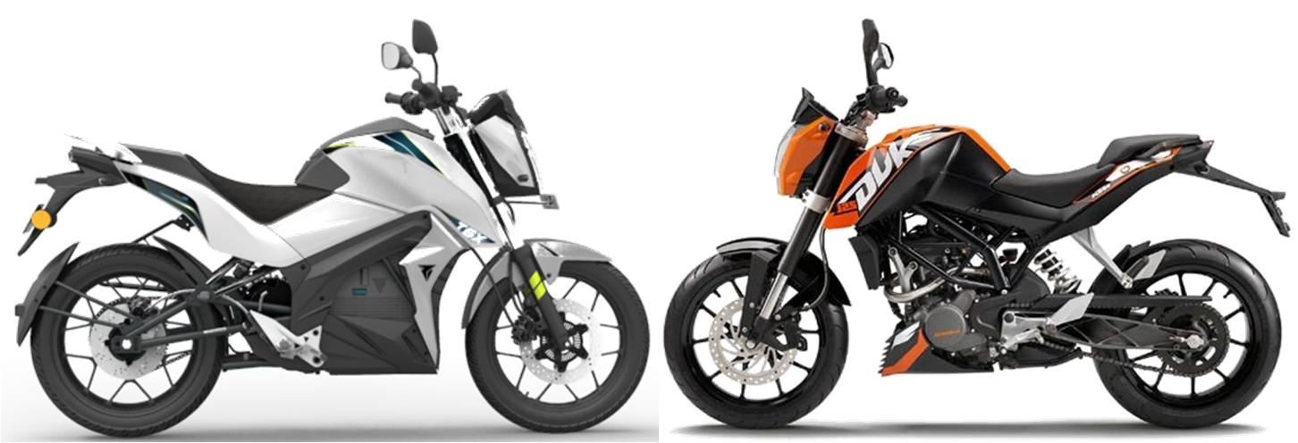 Tork T6X vs Yamaha FZ-S V2.0 Comparison Review
