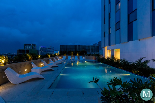 Outdoor Swimming Pool of Park Inn by Radisson North EDSA