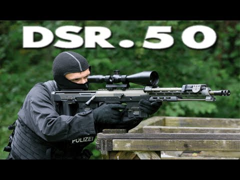 DSR-Precision DSR 50 Sniper Rifle