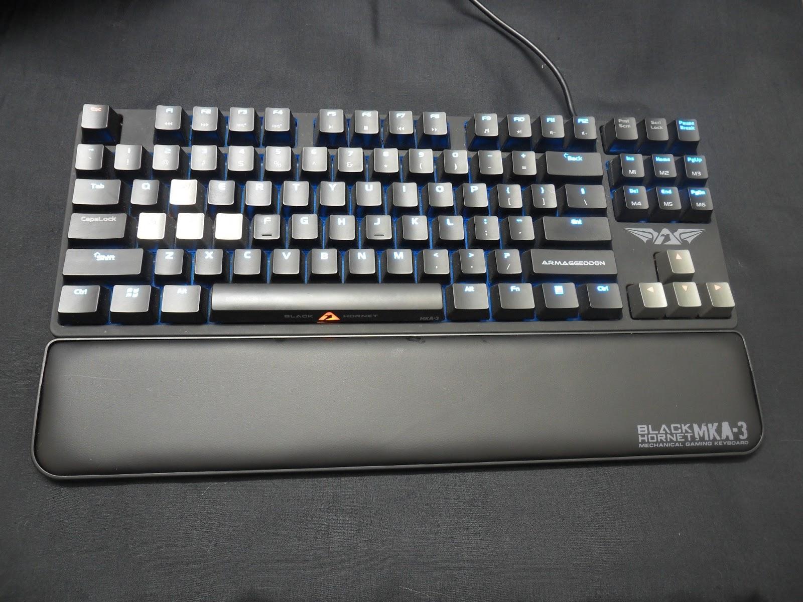 Unboxing & Review: Armaggeddon Black Hornet MKA-3 Mechanical Gaming Keyboard 22