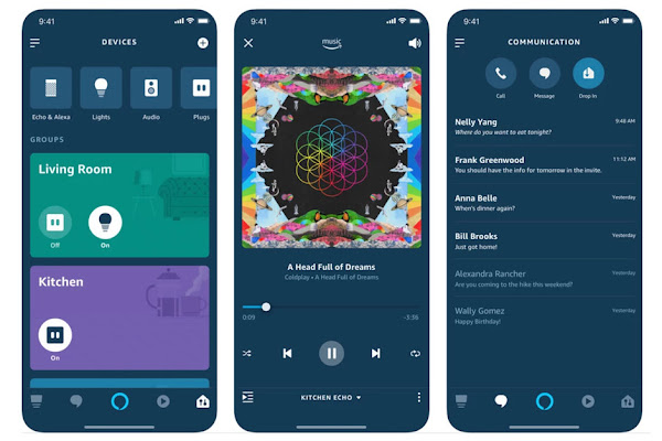 Amazon Alexa updated for iOS and Android