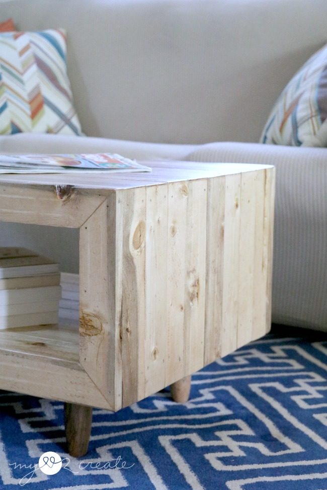Reclaimed Wood Coffee Table, MyLove2Create