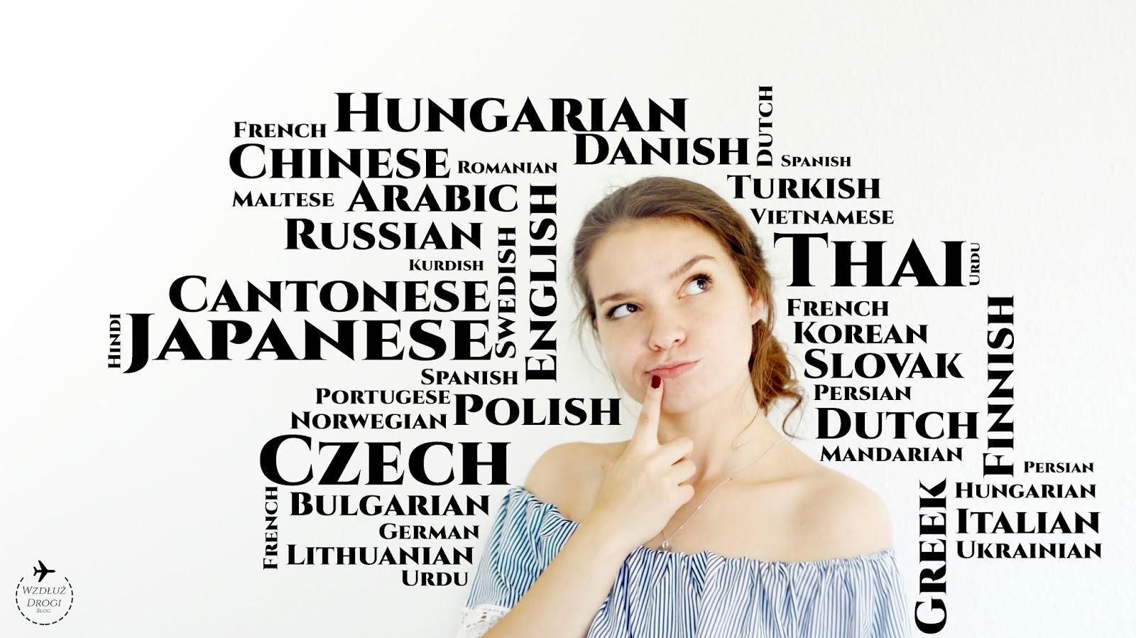 language, języki obce, grafika, dziewczyna