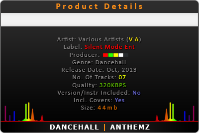 SKIN OUT RIDDIM CD (2013) | DANCEHALL | ANTHEMZ