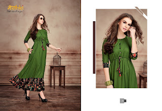 Maraki and Merahki magic vol 2 kurtis Wholesaler
