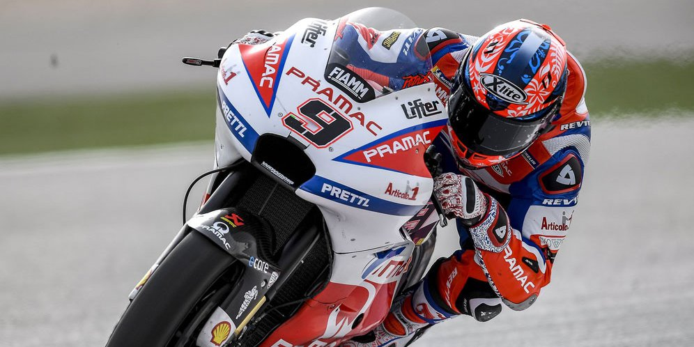 Pembalap Pramac Ducati, Danilo Petrucci.