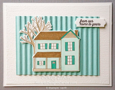 Heart's Delight Cards, Farmhouse Christmas, Farmhouse Framelits, Stamp Review Crew - Farmhouse Christmas, Stampin' Up!