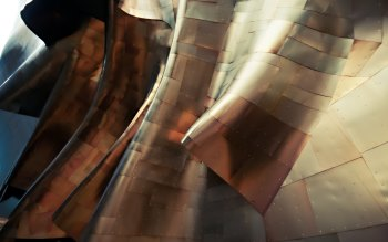 Wallpaper: Architecture of EMP Museum from Seattle