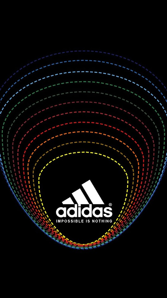 Dotted Border Adidas Logo   Galaxy Note HD Wallpaper