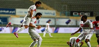 بالفيديو : الزمالك يفوز على طلائع الجيش بعد صيام خمس مباريات متتالية