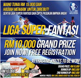 Peraturan Asas Permainan Fantasi Liga Super Malaysia