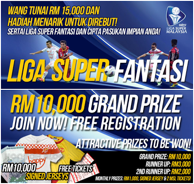 Liga Super Fantasi Malaysia Football Manager