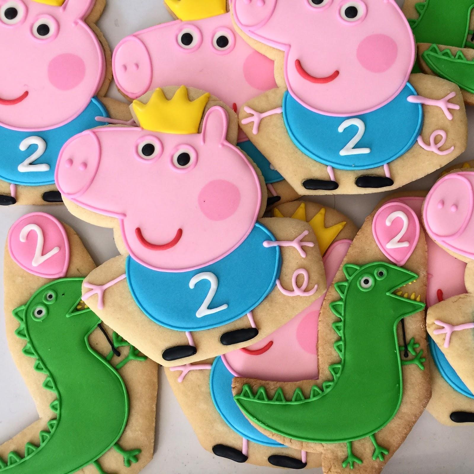 Oh Sugar Events Peppa Pig Cookies