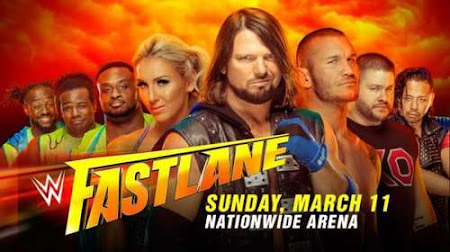 Poster Of WWE Fastlane PPV 11th March 2018 HDTV 480P 300MB