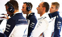 Robet Kubica Sergey Sirotkin F1 Williams Racing Grand Prix Austrii 2018