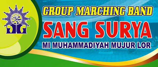 Desain Banner Drum Band Terbaru cdr
