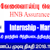 Vacancy In HNB Assurance PLC  Post Of - Internship - Marketing