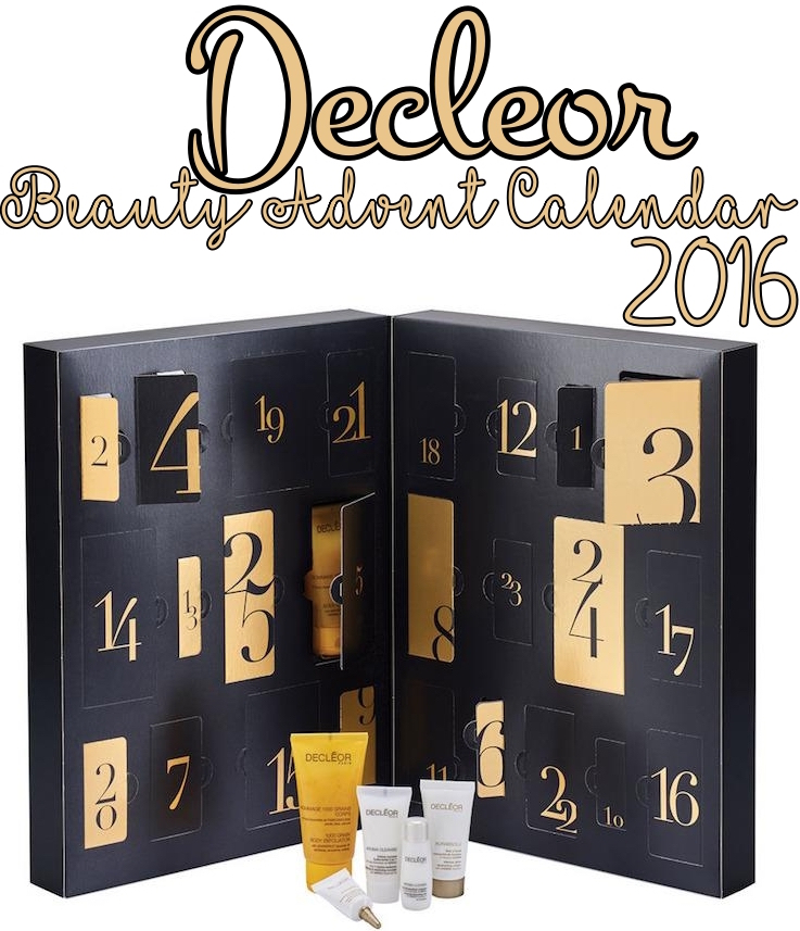 Decleor's Beauty Advent Calendar for Holiday 2016 contains 25 products and ships worldwide.