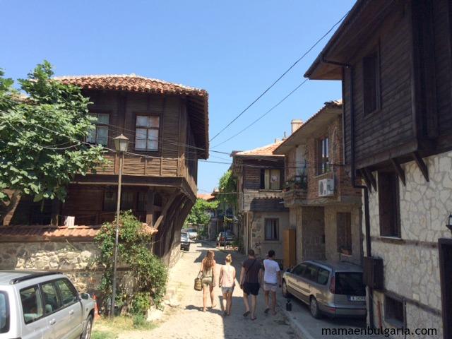 casas casco histórico Sozopol Bulgaria