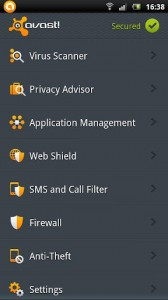 AVAST! MOBILE SECURITY 1.0.2129 FINAL APK