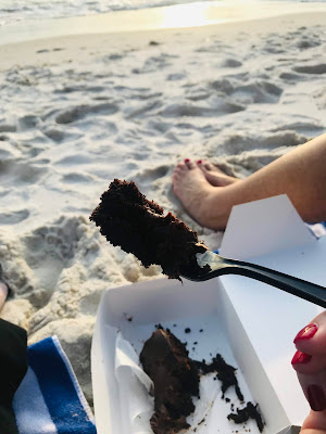 Cake by the ocean, Panama City Beach, Florida