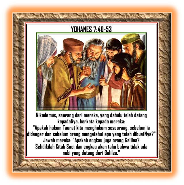 Yohanes 7:40-53